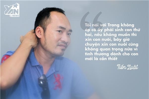 "Tiến Luật: ""Tôi không ép Thu Trang sinh con thứ hai, nếu muốn thì xin con nuôi"" - Tin sao Viet - Tin tuc sao Viet - Scandal sao Viet - Tin tuc cua Sao - Tin cua Sao"