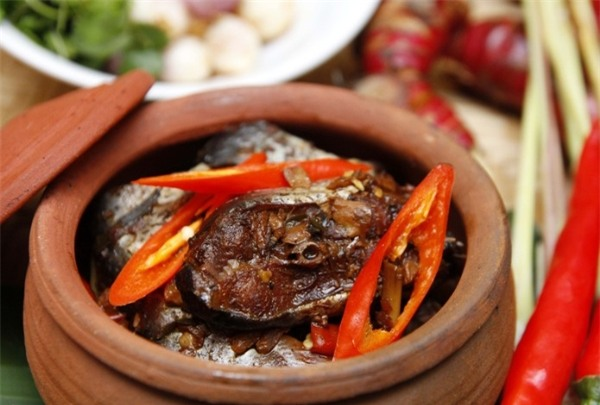 Món cá kho cổ truyền của làng Vũ Đại có từ rất lâu đời