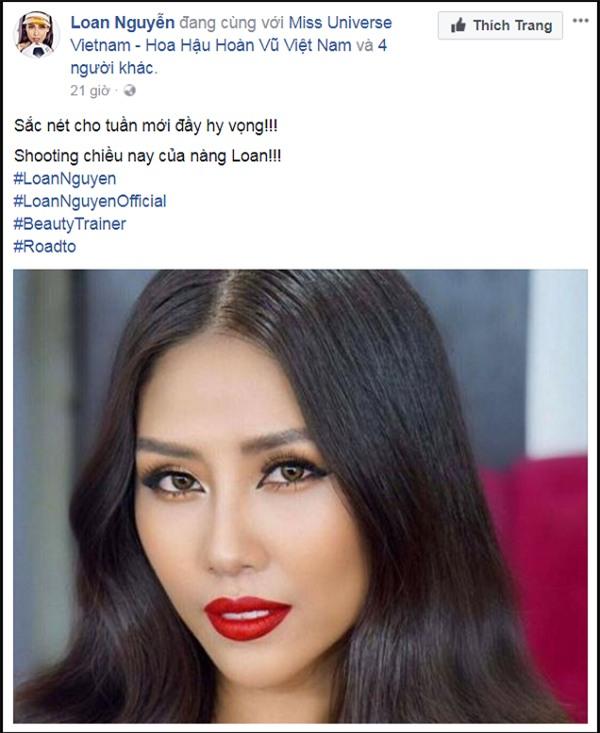 Nguyễn Thị Loan là đại diện chính thức của Việt Nam tại Hoa hậu Hoàn vũ Thế giới 2017?-4