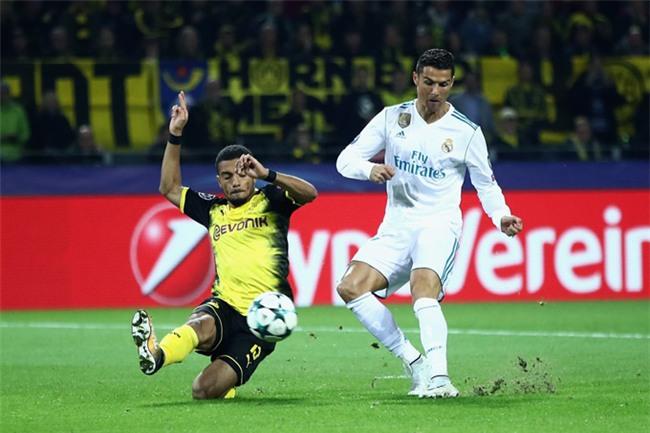 Ronaldo chấm dứt hy vọng của Dortmund khi hoàn tất cú đúp ở trận này