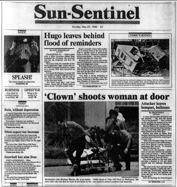 Thảm kịch người phụ nữ bị tên hề hạ sát ngay trước cửa nhà: Bí ẩn 27 năm cuối cùng cũng có lời giải đáp - Ảnh 3.