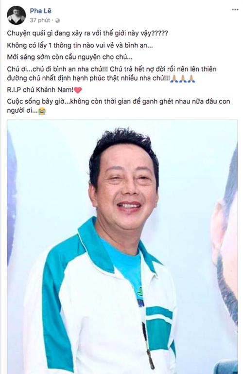 Danh hài Khánh Nam qua đời ở tuổi 52 - Ảnh 4.