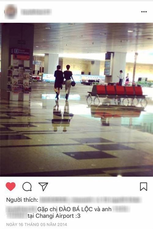 Lộ ảnh Đào Bá Lộc và MC T. đưa nhau đi trốn tại Singapore - Ảnh 1.