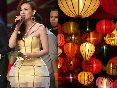 Những chiếc váy dị biệt làm nên tên tuổi mỹ nhân Việt-13