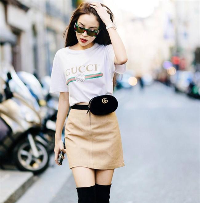 Chán trong nước, sao Việt sang hẳn trời Tây để đọ dáng street style - Ảnh 2.