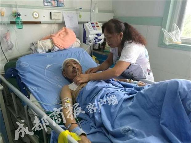 Trung Quốc: Cha mắc bệnh hiểm nghèo, con trai lên mạng quyên góp rồi ôm tiền cao chạy xa bay - Ảnh 1.