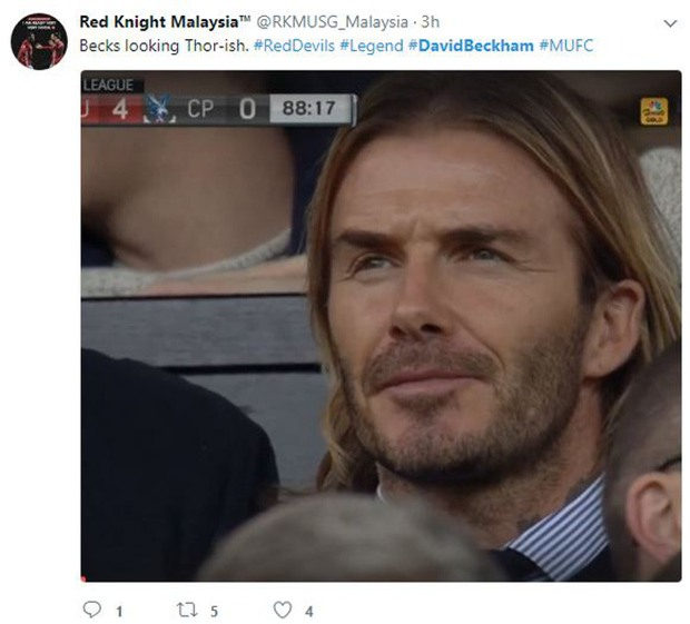 David Beckham tóc dài lãng tử xuất hiện ở Nhà hát của những giấc mơ - Ảnh 7.