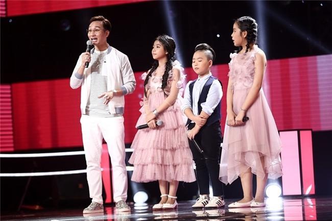 Hoc tro Vu Cat Tuong hat bolero tren san khau The Voice Kids hinh anh 7