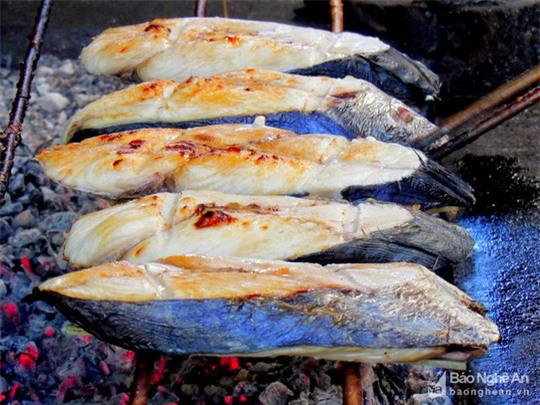 cá thu, hải sản,