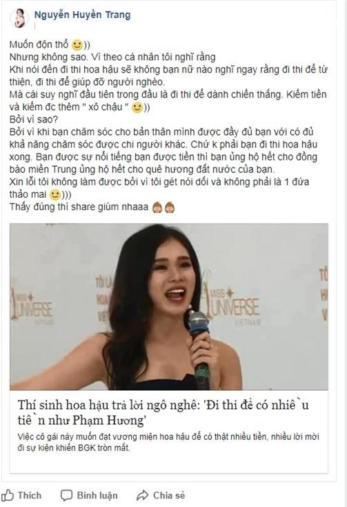 Thí sinh bị gắn mác mê tiền nhất Hoa hậu Hoàn vũ Việt Nam: Tôi không phải đứa thảo mai-3