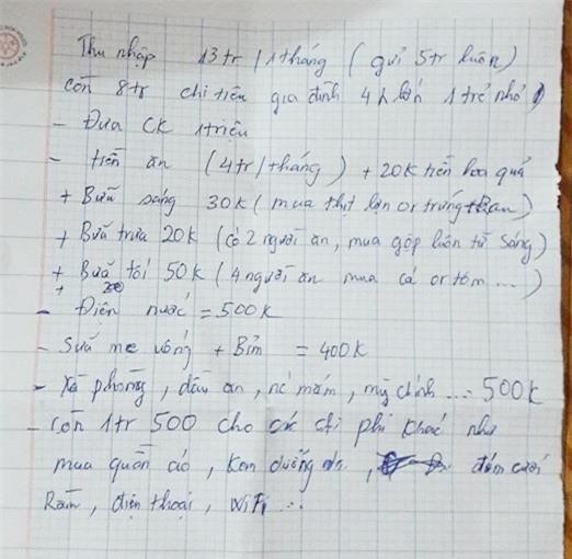 Bí quyết của vợ chồng Hà Nội thu nhập 13 triệu/tháng, nuôi 4 người lớn vẫn tiết kiệm được 5 triệu - Ảnh 5.