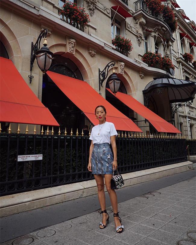 Ngắm loạt streetstyle siêu chất của quý cô châu Á khi đi dự Fashion Week - Ảnh 15.