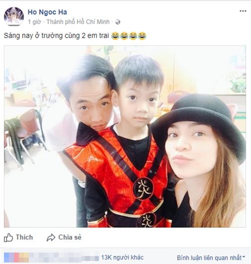 Hồ Ngọc Hà và Cường Đôla cùng đưa con trai Subeo đến trường. - Tin sao Viet - Tin tuc sao Viet - Scandal sao Viet - Tin tuc cua Sao - Tin cua Sao