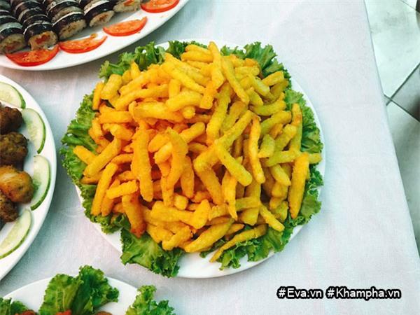 "mam buffet trung thu 45 mon cua cac be mau giao vinh phuc khien dan mang cung ""thom them"" - 13"