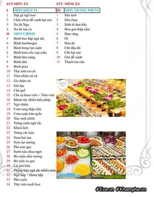 "mam buffet trung thu 45 mon cua cac be mau giao vinh phuc khien dan mang cung ""thom them"" - 4"