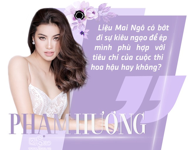 Phạm Hương: Mong Mai Ngô bớt kiêu ngạo nếu muốn thành hoa hậu-5