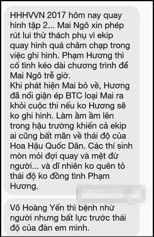 Sau scandal với Phạm Hương, Mai Ngô ẩn ý: Tránh xa con người muốn dìm bạn xuống để họ được nổi-4