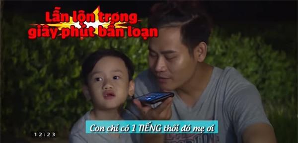 """nhung tinh huong """"hai khong do noi"""" sau 7 tap phat song """"bo oi! minh di dau the?"""" mua 4 - 10"""