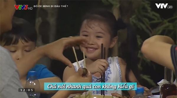 """nhung tinh huong """"hai khong do noi"""" sau 7 tap phat song """"bo oi! minh di dau the?"""" mua 4 - 7"""