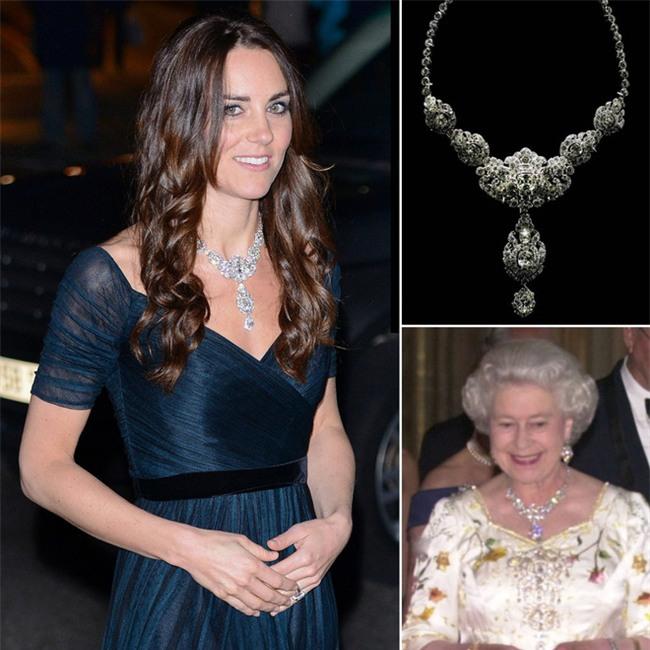 Hóa ra hầu hết đồ trang sức của Công nương Kate đều là đồ đi mượn - Ảnh 5.