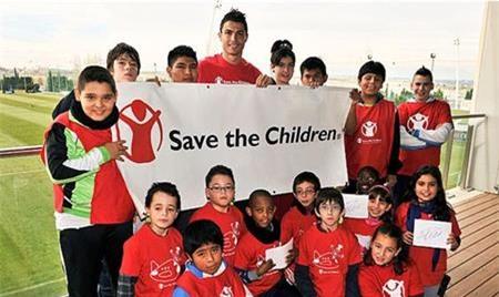 C.Ronaldo luôn là một ngôi sao được đánh giá cao với lòng hảo tâm