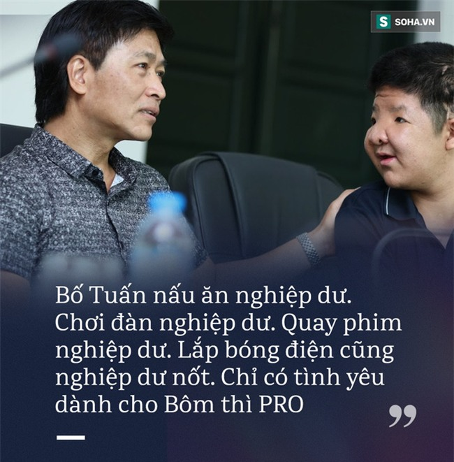 Người hùng Bôm: Tất cả mọi thứ bố làm đều nghiệp dư, chỉ có tình yêu dành cho Bôm là PRO! - Ảnh 1.
