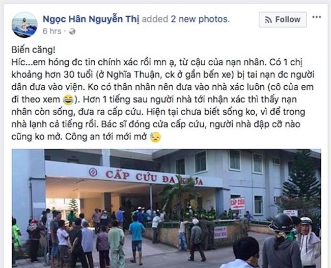 Thực hư Bệnh viện Quảng Ngãi đưa bệnh nhân còn sống vào nhà xác - 1
