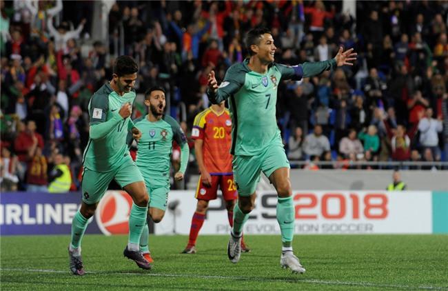 Ronaldo toa sang, Bo Dao Nha tien sat ve du World Cup 2018 hinh anh 7