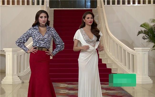 Võ Hoàng Yến lặp lại lịch sử mặc xấu ở Hoa hậu Hoàn vũ Việt Nam 2017-5