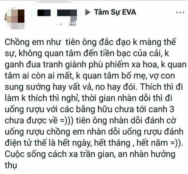 """tam su """"chong nhu tien ong dac dao"""" khien dan mang """"cuoi ra nuoc mat"""" hinh anh 1"""