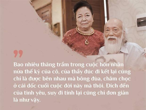 Chuyện tình yêu 56 năm của PGS Văn Như Cương và vợ: Để đi hết cuộc đời vẫn nắm tay nhau và nói Anh yêu em - Ảnh 1.