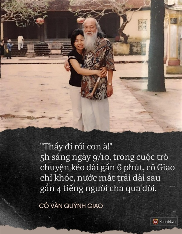 Thầy đi rồi, con à! - Cuộc gọi đẫm nước mắt lúc 5h sáng từ cô con gái thứ 2 của thầy Văn Như Cương - Ảnh 3.