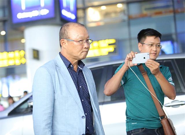 Ông Park Hang Seo thu hút sự chú ý của dư luận