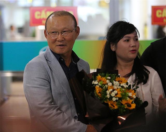 HLV Park Hang Seo khẳng định ông có nhiều dự định lớn với bóng đá Việt Nam