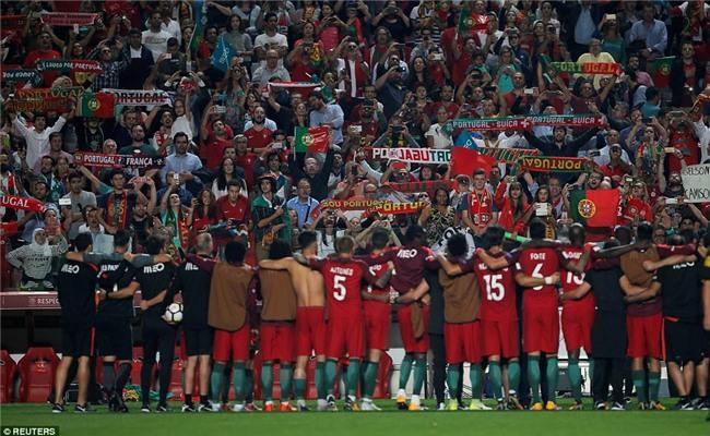 Bồ Đào Nha thắng trận, Ronaldo chính thức góp mặt ở World Cup 2018 - Ảnh 12.