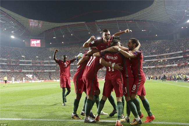 Bồ Đào Nha thắng trận, Ronaldo chính thức góp mặt ở World Cup 2018 - Ảnh 9.
