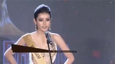 Xem trọn clip này để thấy thần thái của Huyền My đã chuẩn Hoa hậu, không còn mang hình bóng hot girl! - Ảnh 2.