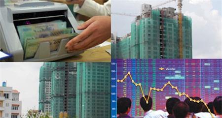chứng khoán,cổ phiếu ngân hàng,cổ phiếu bất động sản,VN-Index,cổ phiếu chứng khoán,Phạm Nhật Vượng,Trần Đình Long,Nguyễn Đức Tài,Cao Thị Ngọc Dung