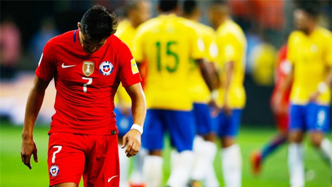 """Chile ngồi nhà xem World Cup: Cay đắng """"Thế hệ vàng"""""""