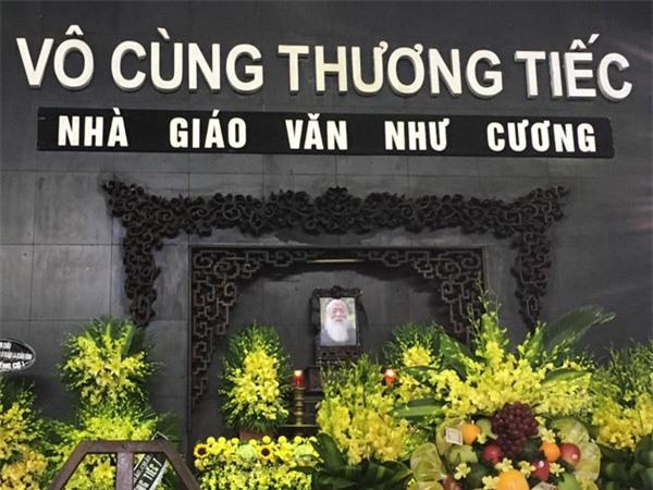 dam tang thay van nhu cuong: nguoi vo dung khong vung khi den nha tang le - 1