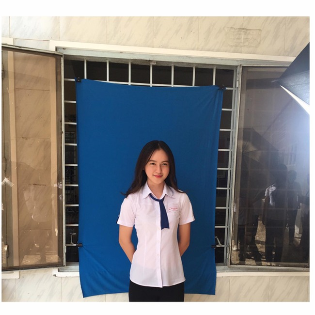 Nữ sinh Cần Thơ sở hữu nhan sắc được so sánh với mỹ nhân số 1 Philippines - Ảnh 1.
