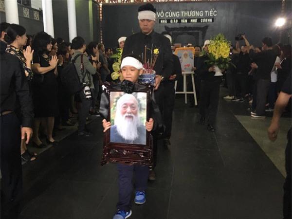 hoc sinh luong the vinh xep hang dai don linh cuu thay van nhu cuong ve truong - 4