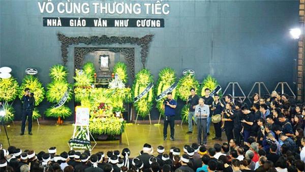 hoc sinh luong the vinh xep hang dai don linh cuu thay van nhu cuong ve truong - 7