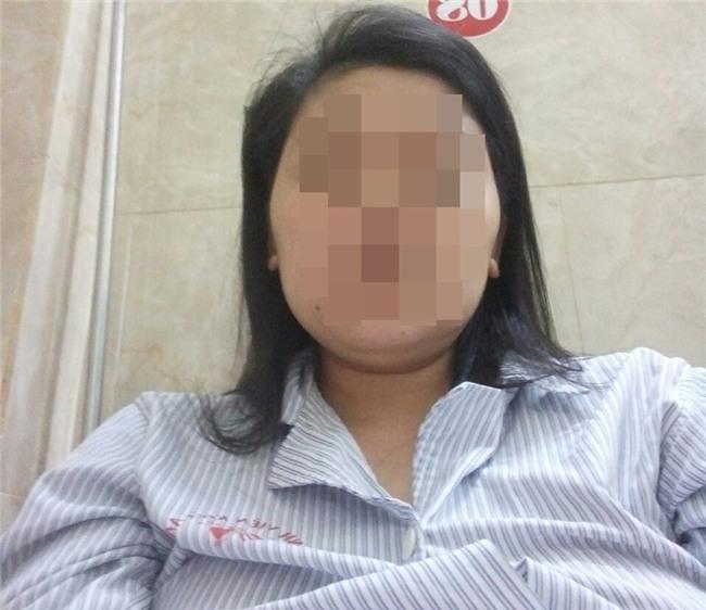 Chị M được điều trị tại bệnh viện - Ảnh nhân vật cung cấp