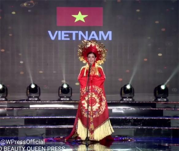 Bị cảm bất ngờ, Huyền My xin lỗi vì chưa hô được dõng dạc nhất hai tiếng Việt Nam-2