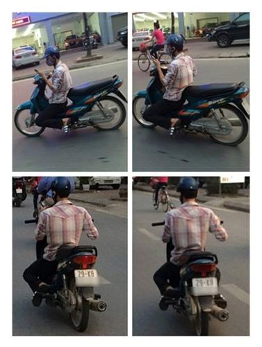 Chàng trai và chiếc xe máy gây ồn ào trên đường phố Hà Nội  - Ảnh 3.