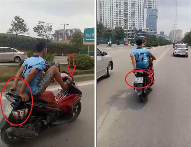 Chàng trai và chiếc xe máy gây ồn ào trên đường phố Hà Nội  - Ảnh 4.