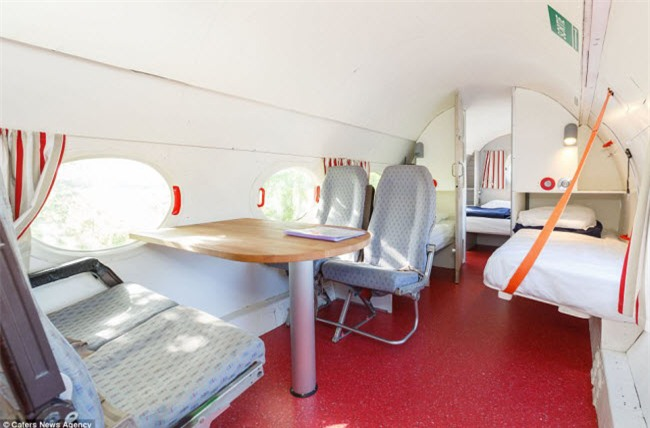 Ngỡ ngàng chuồng ngựa, máy bay hóa thành nơi nghỉ dưỡng đẹp xuất sắc - 3