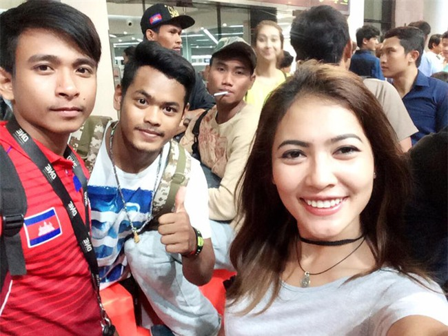 Hot girl làng võ Campuchia gây sốt với vẻ đẹp dữ dội, nhưng không kém phần quyến rũ - Ảnh 6.