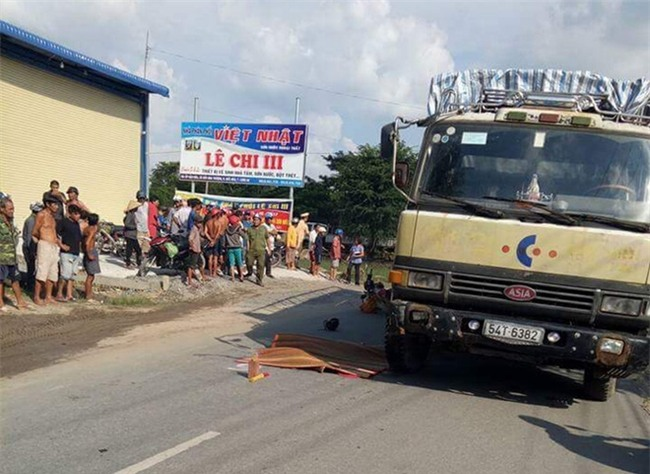 Tai nạn đau lòng: Tránh chó chạy rông, gia đình 4 người thương vong dưới bánh xe tải - Ảnh 1.